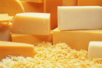 High Temp Diced Cheddar Cheese - 1 lb.
